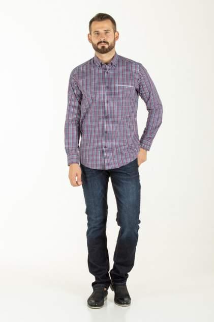 Рубашка мужская Westrenger WS1SM-18-42 синяя 50
