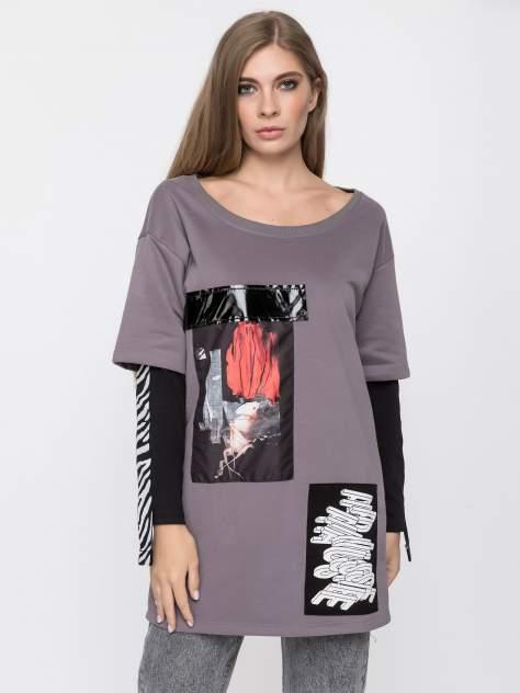 Женская блуза DAIROS GD69300701, серый