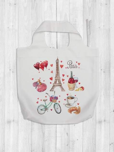 Авоська женская JoyArty Воспоминания про Париж