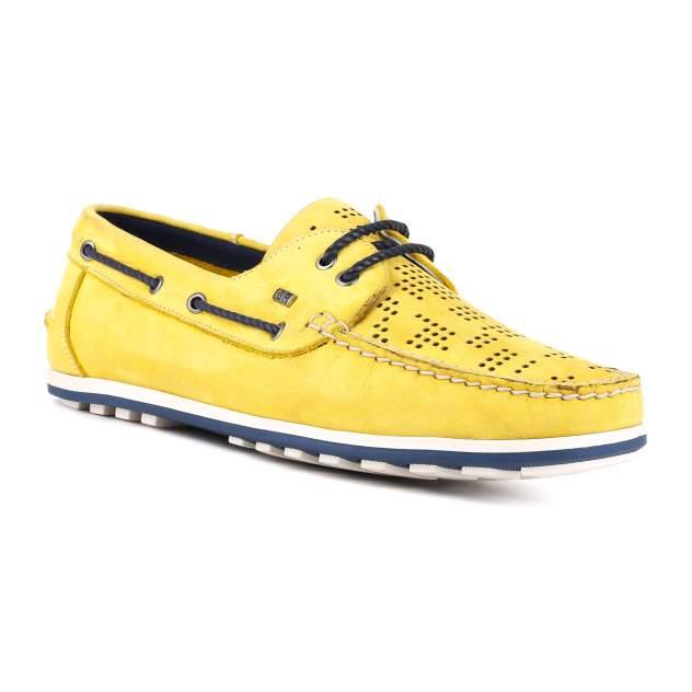 Мокасины мужские GERONIMO 7485 желтые 40 RU