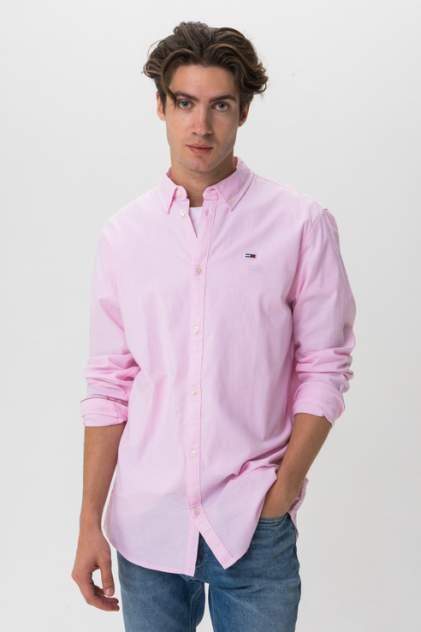 Рубашка мужская Tommy Hilfiger DM0DM06562 розовая 50