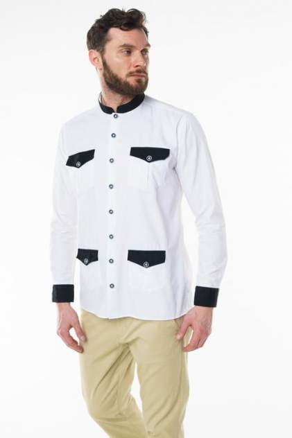 Рубашка мужская Sahera Rahmani 7010403 белая 52