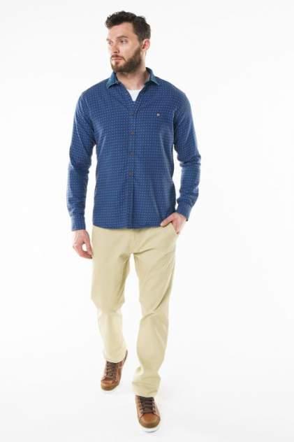 Рубашка мужская Sahera Rahmani 9011526-40 синяя 52