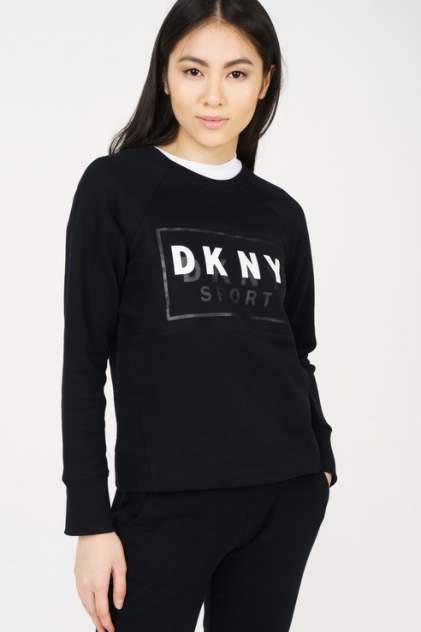 Толстовка женская DKNY DP8T6278/BLK черная 46-48