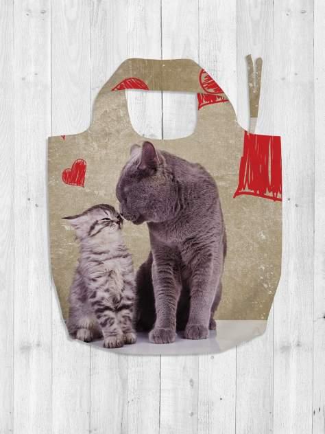Авоська женская JoyArty Любвеобильные коты