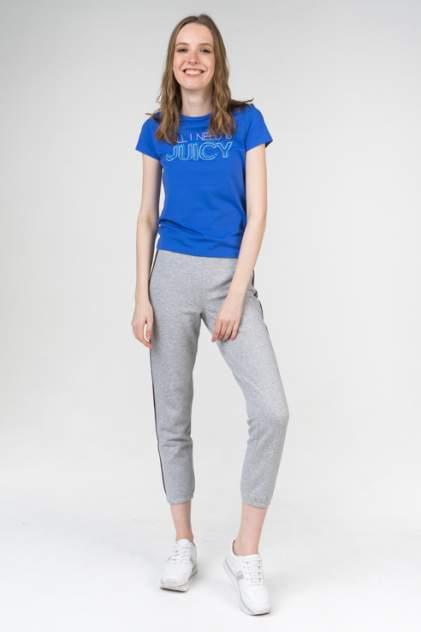 Футболка женская Juicy Couture JWTKT189471 синяя M