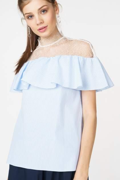 Блуза женская T-Skirt SS17-04-0449-FS голубая M