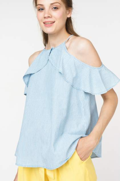 Блуза женская Vero Moda 10211807 голубая M
