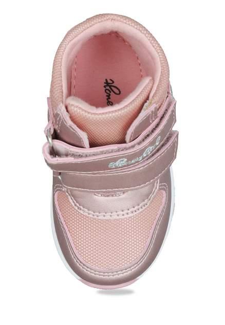 Ботинки детские Honey Girl, цв.розовый р.21