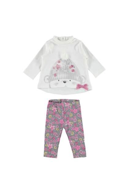 брюки для девочки iDO, цв.белый, р-р 68