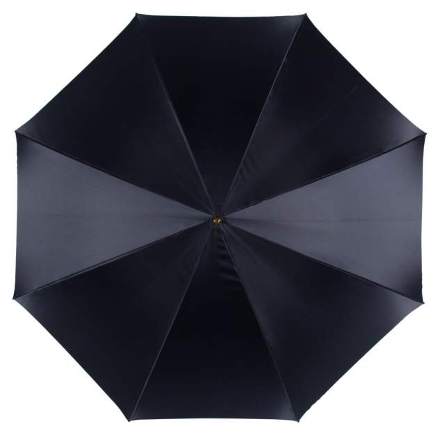 Зонт-трость женский механический Pasotti Blu Magnolia Pelle синий/разноцветный
