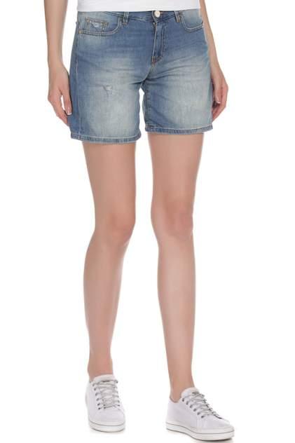 Шорты джинсовые женские PINKO TAG G86155395 голубые 25 IT