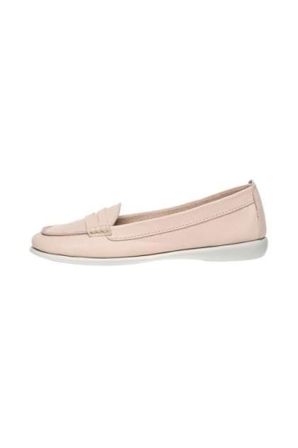 Лоферы женские MASCOTTE 438-910662-01 розовые 40 RU