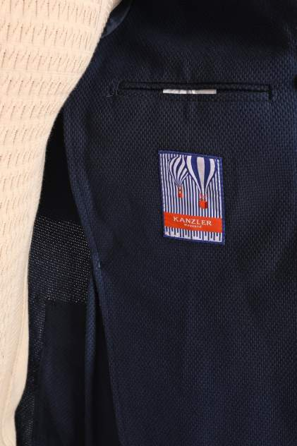 Пиджак мужской Kanzler 20S-JW01-R/99 синий 46 RU