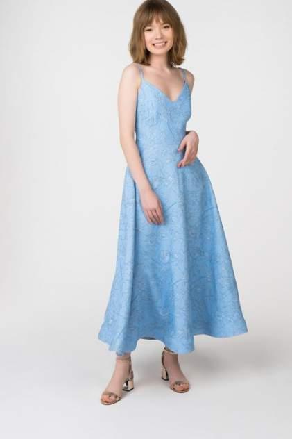 Вечернее платье женское АДЛ 12434280000 голубое M