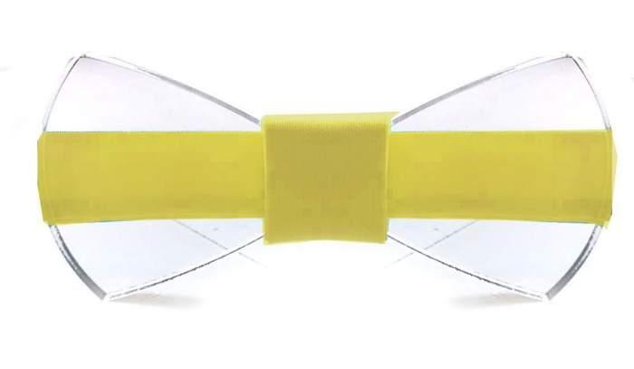 Галстук-бабочка мужской 2beMan GB620 желтый