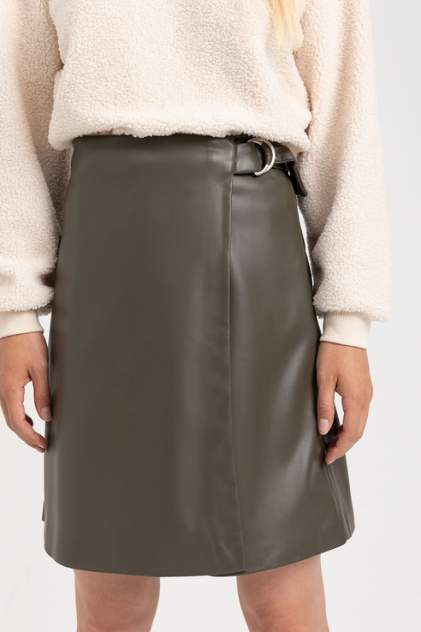 Женская юбка Sela 808021903, зеленый