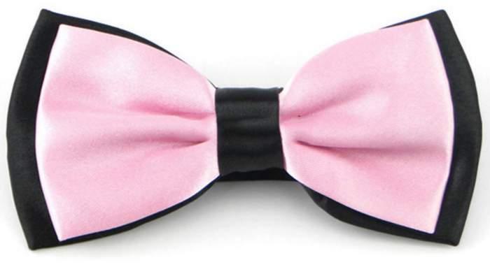 Галстук-бабочка мужской 2beMan GB015 розовый