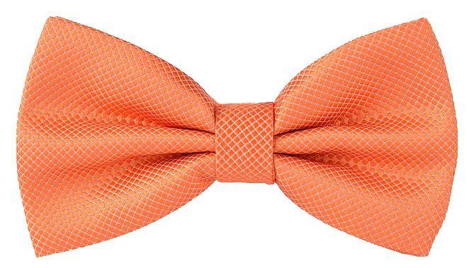 Галстук-бабочка мужской 2beMan GB026 оранжевый