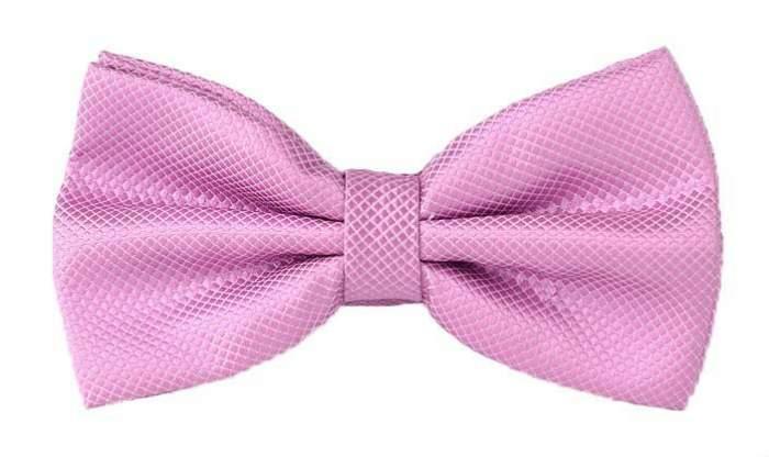 Галстук-бабочка мужской 2beMan GB121 розовый