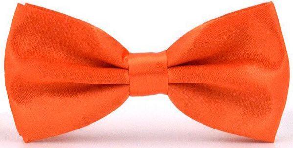 Галстук-бабочка мужской 2beMan GB258 оранжевый
