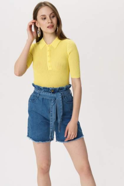Джинсовые шорты женские Luizacco L002 синие 46