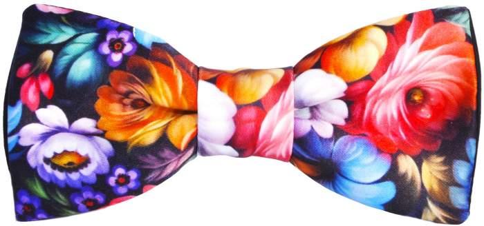 Галстук-бабочка мужской 2beMan GB467 разноцветный