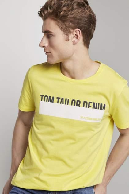 Футболка мужская TOM TAILOR 1016303 желтая M