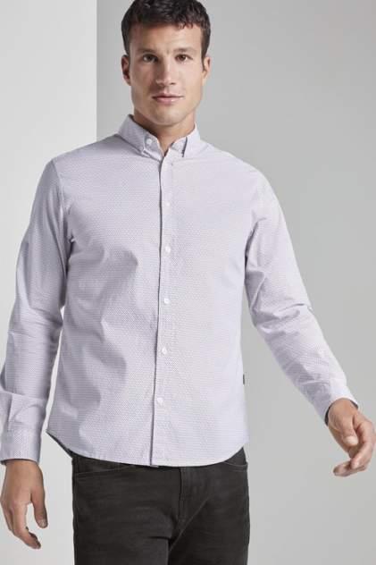 Рубашка мужская TOM TAILOR 1021064 синяя 48