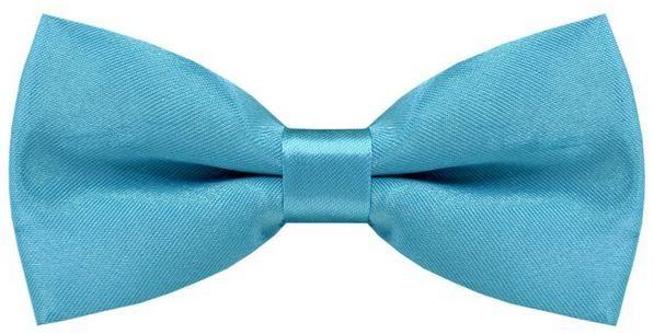 Детский галстук-бабочка 2beMan MGB016голубой