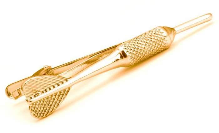 Зажим для галстука 2beMan TC065 золотистый