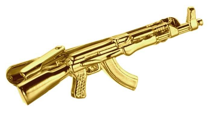 Зажим для галстука 2beMan TC063 золотистый