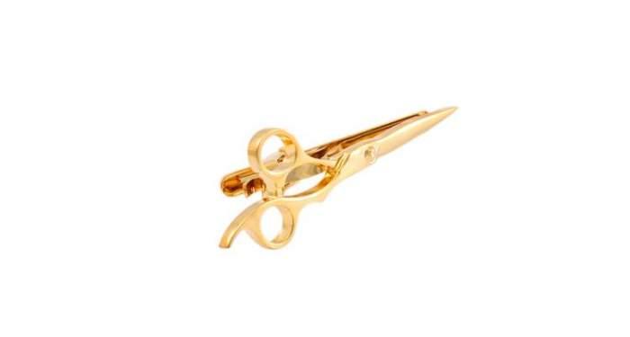Зажим для галстука 2beMan TC083 золотистый