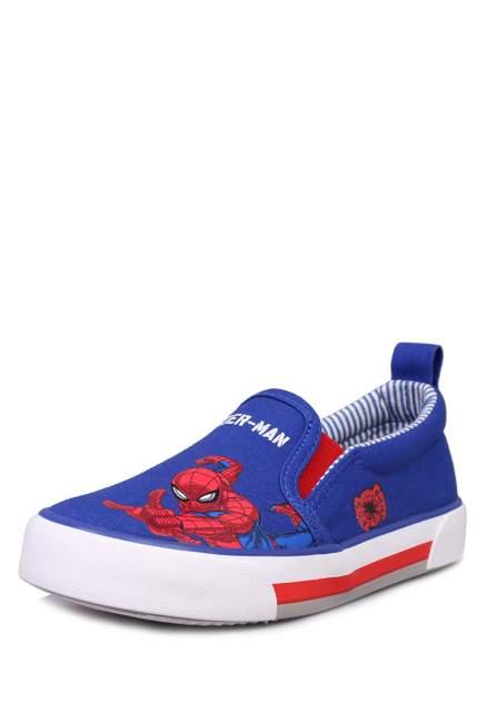 Слипоны детские Spider-Man, цв.синий