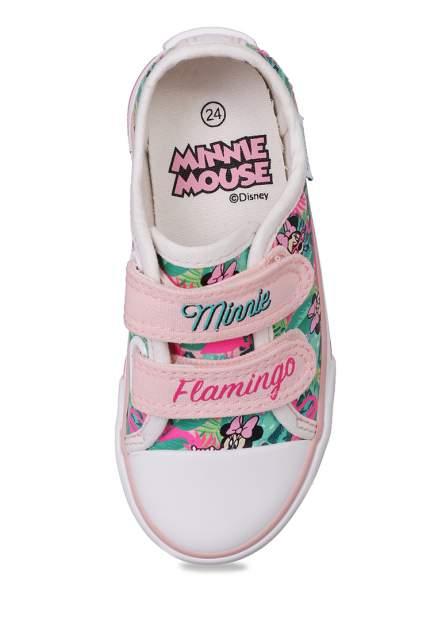 Кеды детские Minnie Mouse, цв. разноцветный р.22