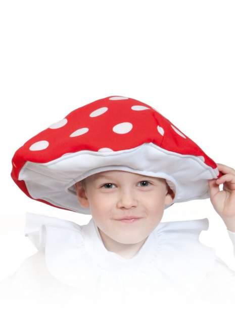 Карнавальная маска-шапка Карнавалофф Гриб Мухомор (размер 53-55)