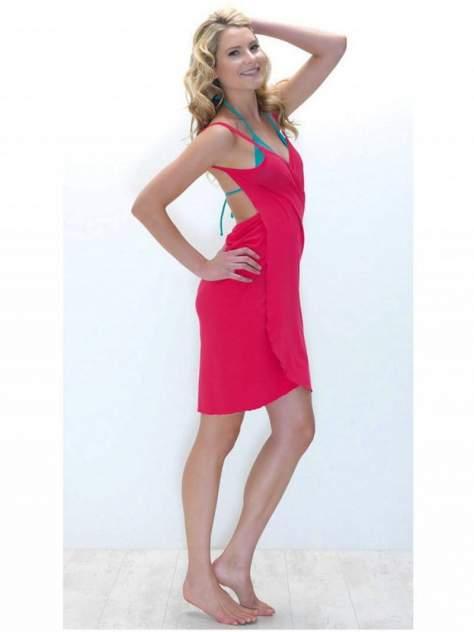 Пляжная туника женская BS8150 розовая 48-50