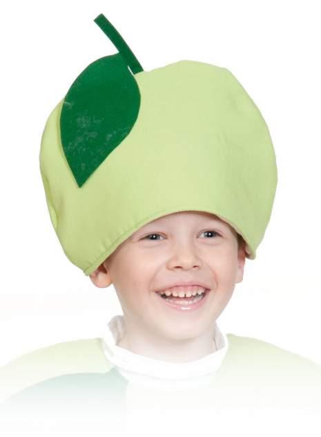 Карнавальная маска-шапка Карнавалофф Яблоко (размер 53-55)