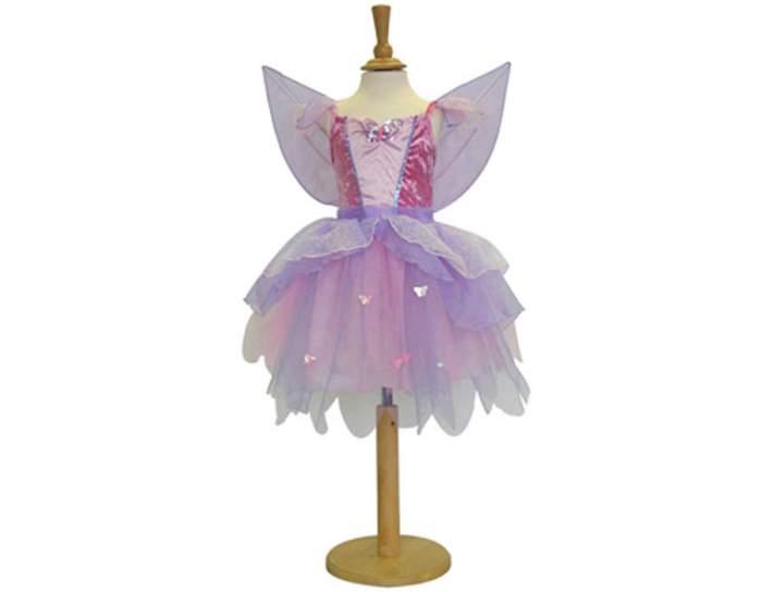 Карнавальный костюм Travis Designs Фея, цв. фиолетовый р.104