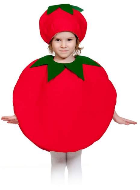 Карнавальный костюм Карнавалофф Овощ, цв. красный р.110
