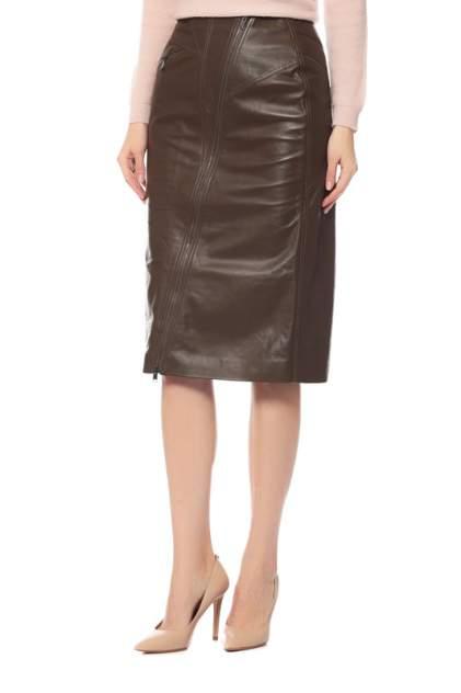 Женская юбка Alexander Terekhov SKLT014/300/DW18, коричневый