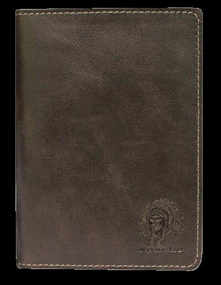 Бумажник водителя Аpache ОВ-А дымчато-коричневый