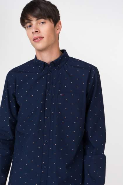 Рубашка мужская Tommy Hilfiger DM0DM05912, синий