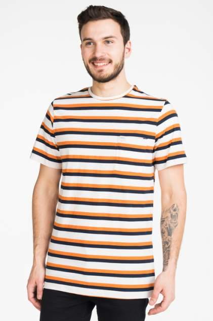 Футболка мужская Casual friday 20502508 оранжевая M