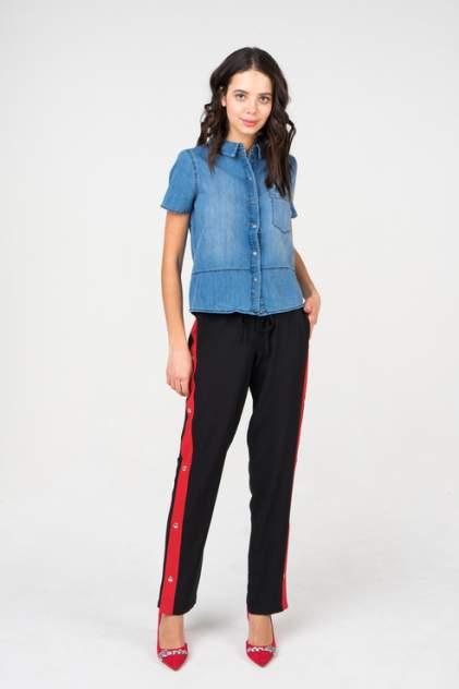 Джинсовая рубашка женская Noisy May 27005584 синяя M