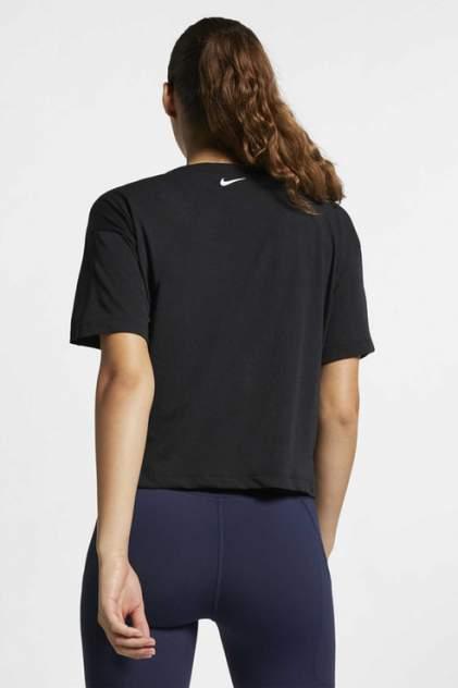 Футболка женская Nike AQ5177-010 черная S