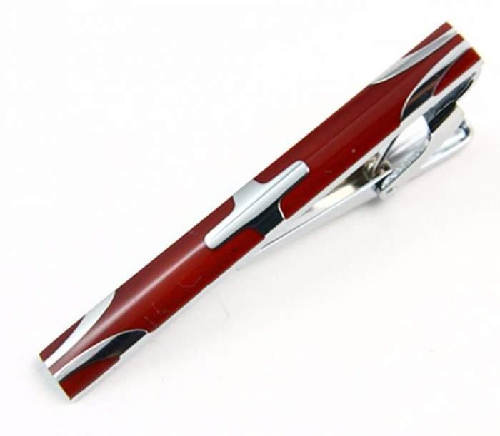 Зажим для галстука 2beMan TC096 коричневый