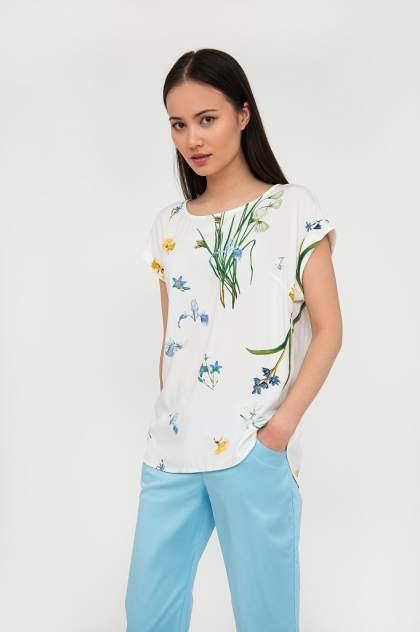 Блуза женская Finn Flare S20-12032 белая XXL