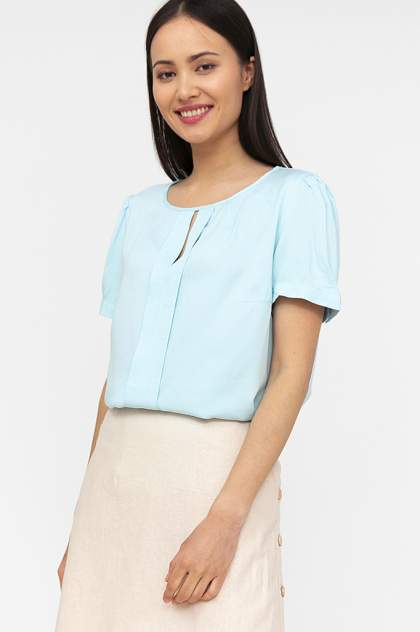 Женская блуза Finn Flare S20-110107, голубой