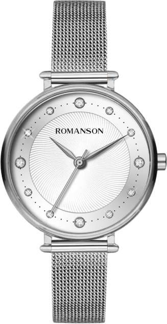 Наручные часы кварцевые женские Romanson TM8A45LLW